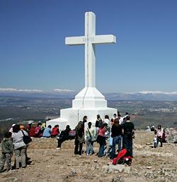 Krizevac, il monte della Croce