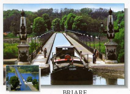 Cartolina di Briare