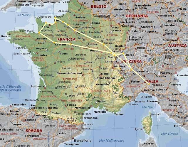 Francia archivi pagina 2 di 5 ti turismo itinerante - Ci mappa da colorare pagina di mappa ...