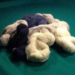 Matasse di lana del Wollen Mills ad Arklow