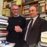 Foto Presidente Promocamp Italia e Presidente Fiere parma