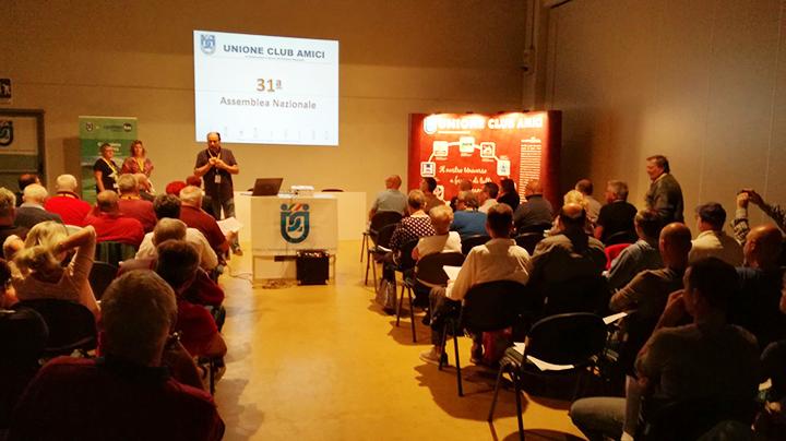 a Parma l'Incontro con la Federazione Unione Club Amici