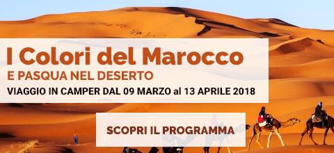 viaggio in camper in Marocco dal 09 marzo al 13 aprile