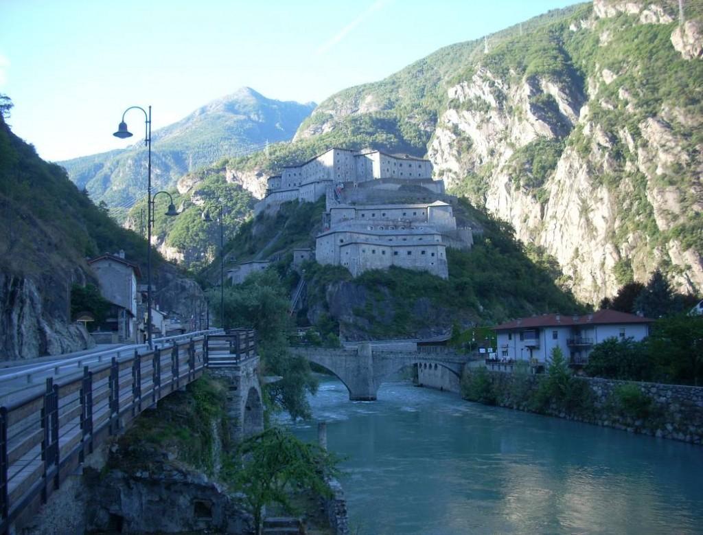 Forte di Bard e  ponte romano