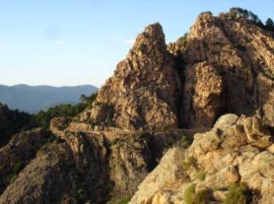 Formazioni rocciose Les Calanches
