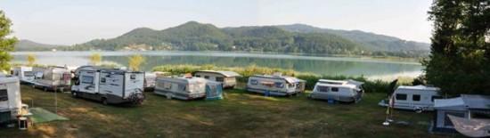 Camping Turkwiese (vista sul lago)