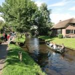 canali, ponti e passerelle a Giethoorn