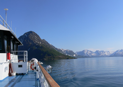 Alta - L'imbarco di Oksfjord