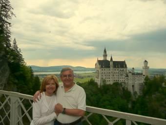 Marcella e Paolo al Castello Schloss Neuschwanstein