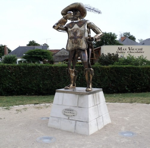 Statua di Porthos