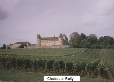 Il castello del borgo di Rully