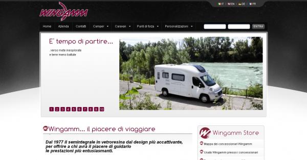 Il nuovo sito Wingamm