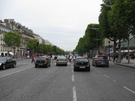 Strada verso l'Arco del Trionfo | Trocadero