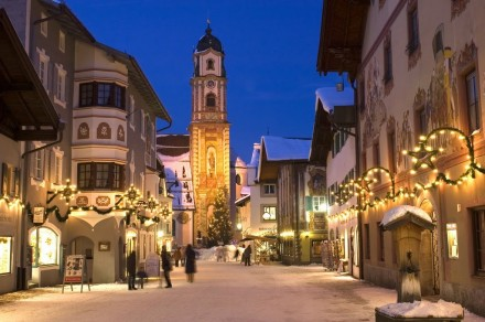 Mittenwald a Natale