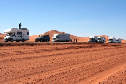 Carovana di camper in Algeria | Illizi 80 Km da In Amenas