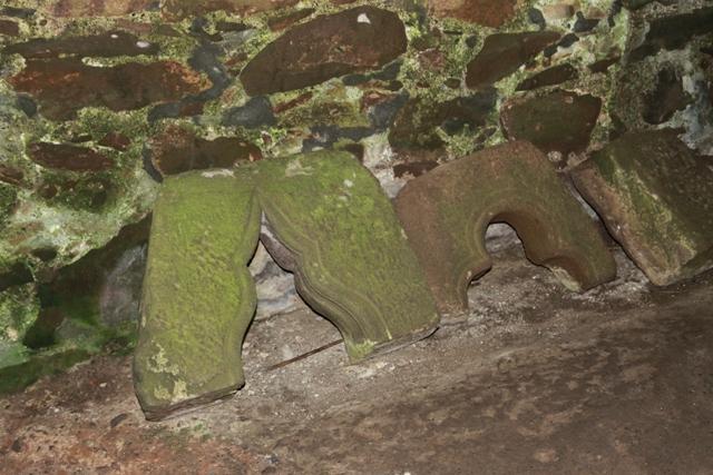 Particolari del Castello di Dunottar
