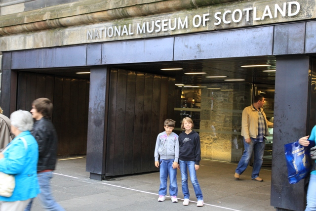 Edimburgo entrata del National Museum of Scotland