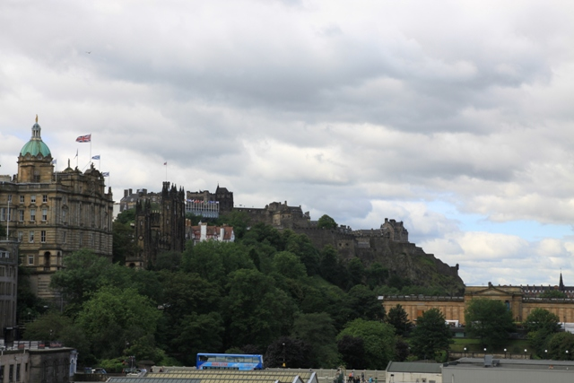 Scorcio di Edimburgo visto da un Park and Ride