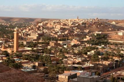 La metropoli di Ghardaia