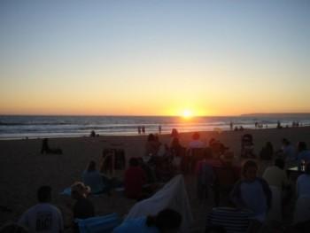 Tarifa | tramonto sull'Oceano