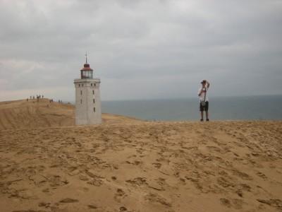 L'atmosfera surreale delle spiagge in Danimarca