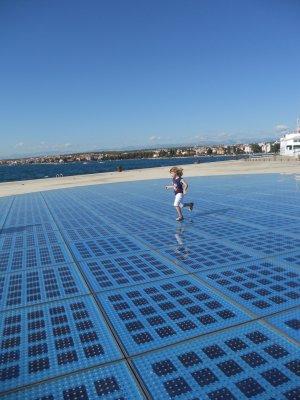 I pannelli solari del 'Saluto Al Sole' in Croazia