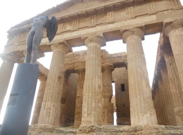 Agrigento il Tempio di Giunone
