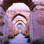 les greniers de Moulay Ismail