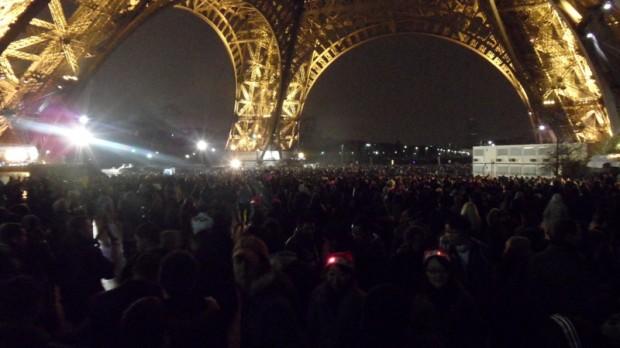 Capodanno sotto la Torre Eiffel