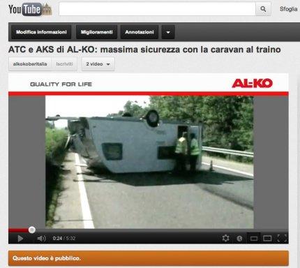 AL-KO: nuovo video su You Tube dedicato al Trailer Control (ATC)