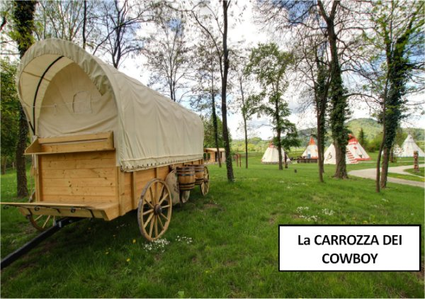 carrozza cowboy alle Terme di Čatež