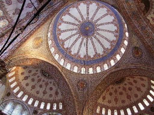 Istanbul la cupola della Moschea Blu