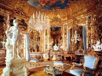 Linderhof il Castello di Re Ludwig II- lo studio privato