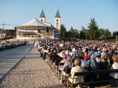 Messa sulla collina di Medjugojre