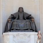 UB Parlamento e Gengis Khan