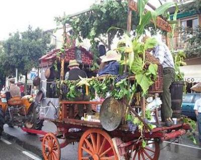 Raduno Festa dell'uva a Subbiano
