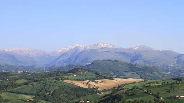 Monti Sibillini in camper