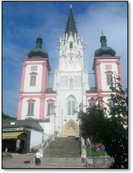 Santuario a Mariazell
