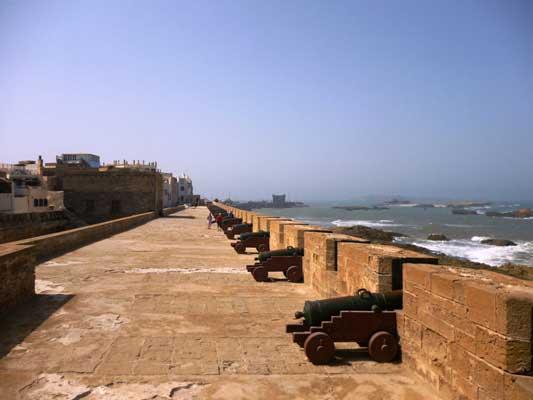 Essaouira- i bastioni portoghesi
