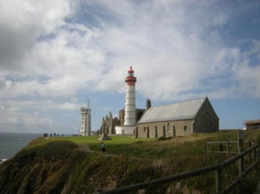 Faro di Saint Mathieu in Bretagna