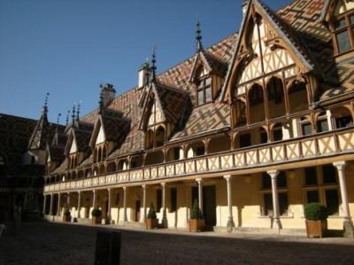Hotel Dieu a Beaune in Bretagna