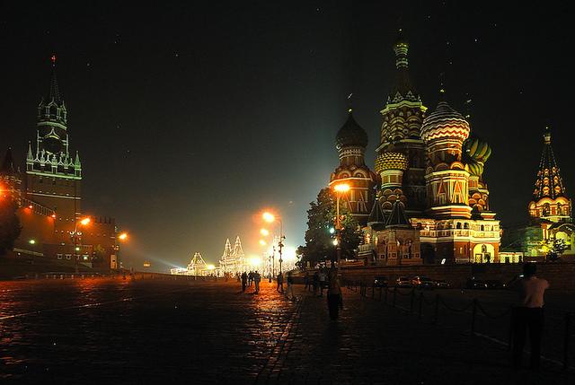 Cattedrale di San Basilio sulla Piazza Rossa a Mosca