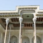 Bukhara - Complesso architettonico colonnato moschea