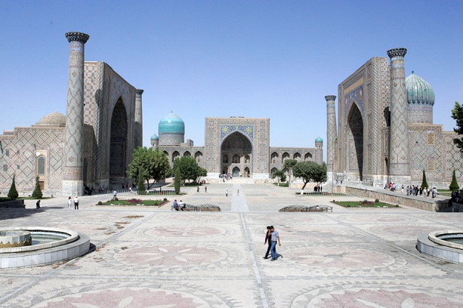Uzbekistan - Samarcanda complesso Registan