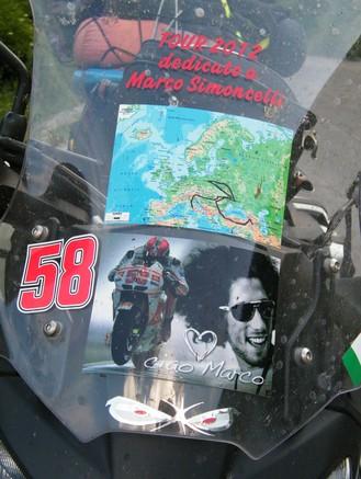 Il Mio Tour Dedicato al campione del Mondo Marco Simoncelli