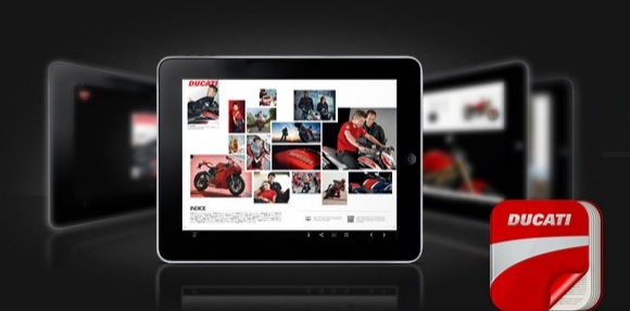 L' APP delle news Ducati su iPad o Iphone