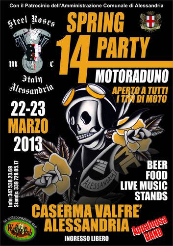 14° Spring Party in via Montebello ad Alessandria