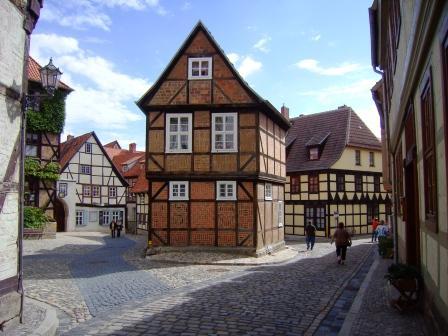 Il centro storico di Quedlinburg