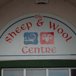 Sheep and Wool Center a Leenaun