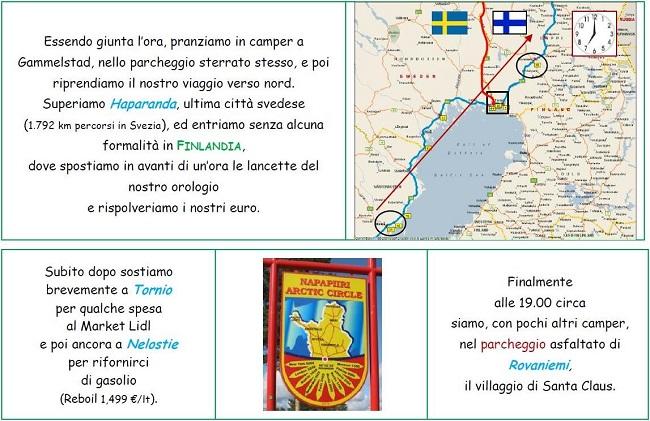 Cartina Finlandia - Rovaniemi